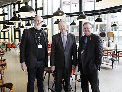 Lord Watts Explores Creative Arts Hub in Manchester