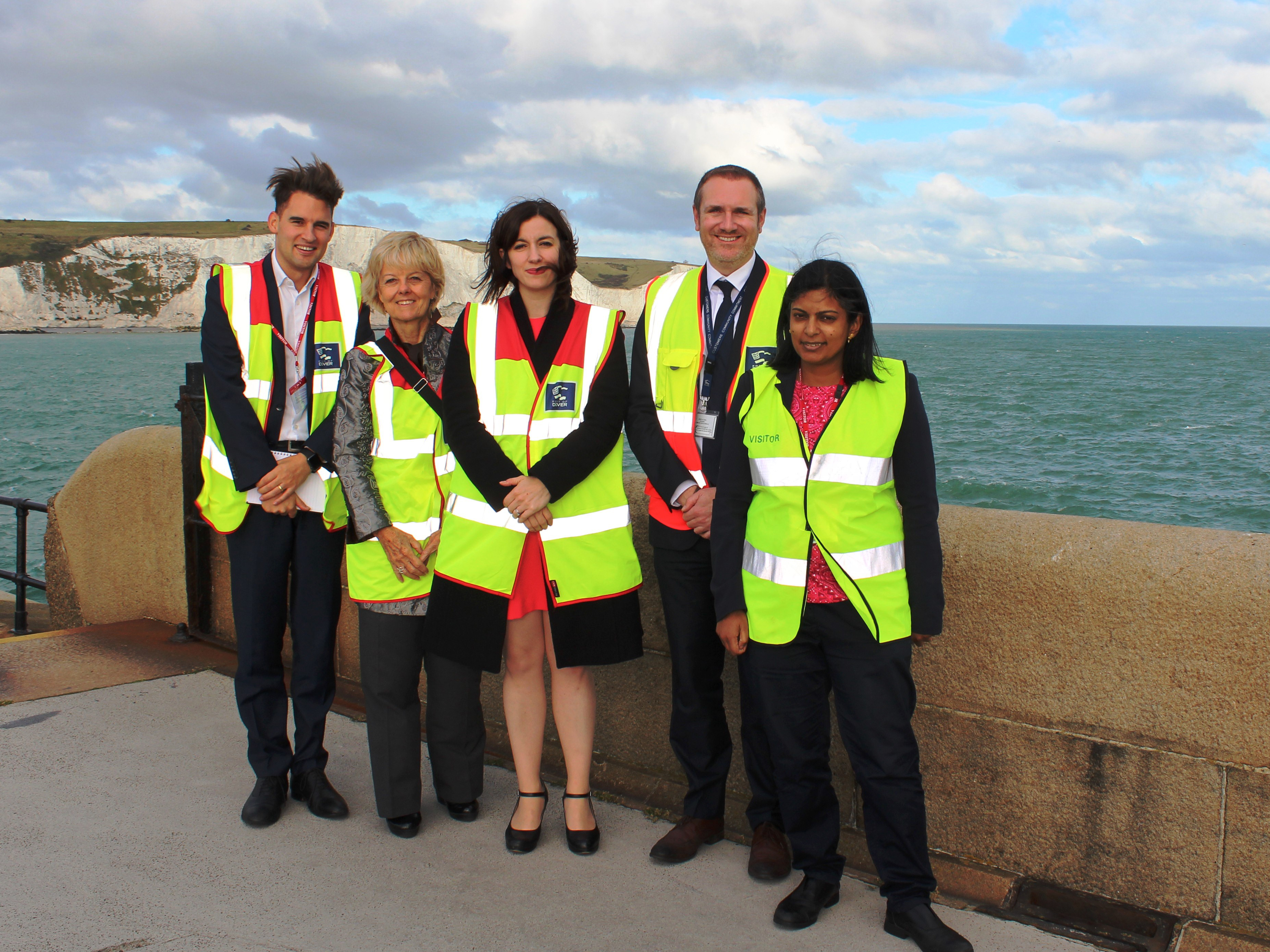 Ferried away: parliamentarians visit the Port of Dover